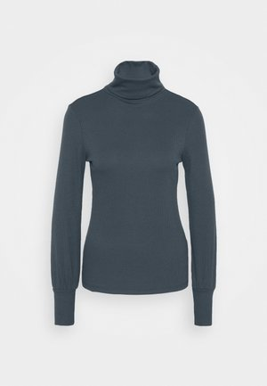 COSY ROLL NECK - Long sleeved top - dark grey