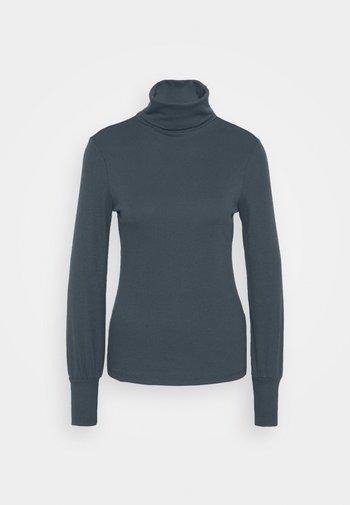 COSY ROLL NECK - Long sleeved top - dark grey