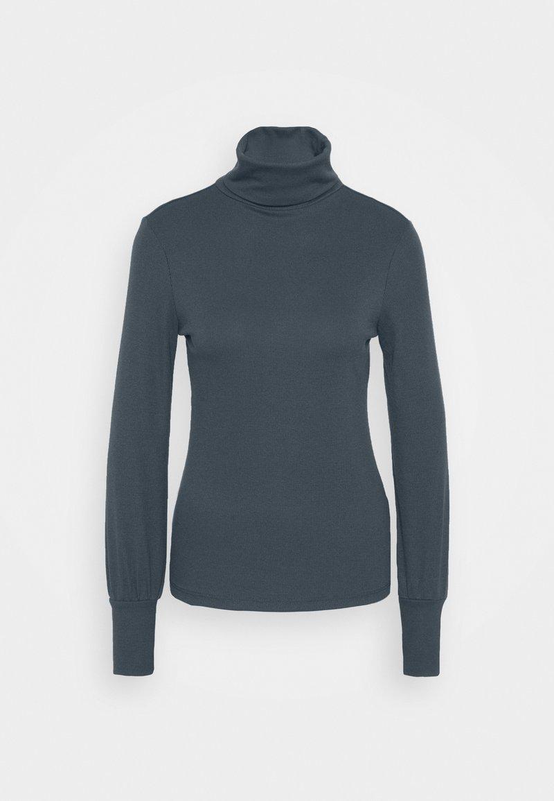 New Look - COSY ROLL NECK - Long sleeved top - dark grey
