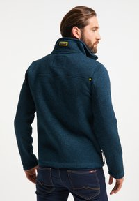 Schmuddelwedda - Fleece jacket - petrol melange - 2