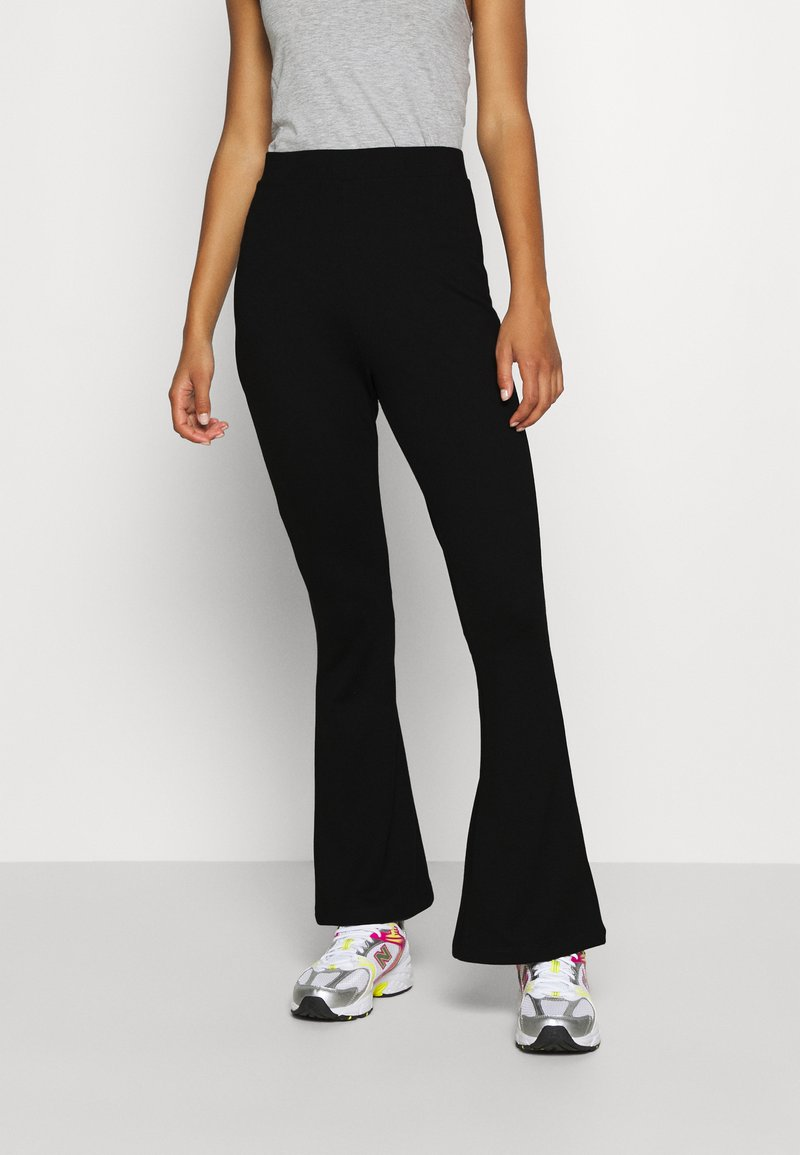 Even&Odd - Leggings - Flared Leg Trousers - Leggings - black
