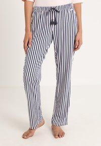 LASCANA - PANTS - Pyjama bottoms - rose/grey - 0