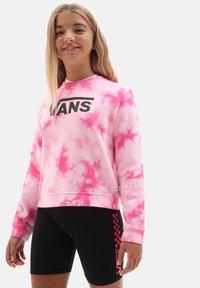 Vans - GR HYPNO CREW GIRLS - Sweatshirt - fuchsia purple - 0