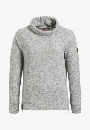 ANJE - Jumper - mottled light grey