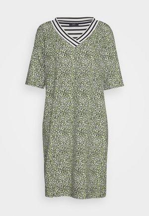 Sukienka z dżerseju - gelb