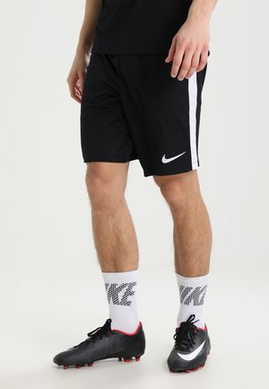 DRY ACADEMY - Pantalón corto de deporte - black/white