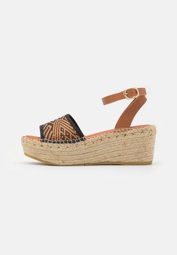 NAYA - Platform sandals - madagascar