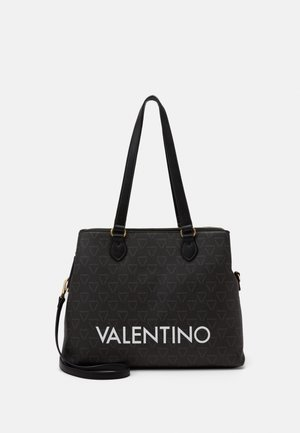LIUTO - Tote bag - nero/multicolor