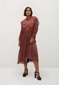 Violeta by Mango - COUNTRY - Day dress - bräunliches orange - 1