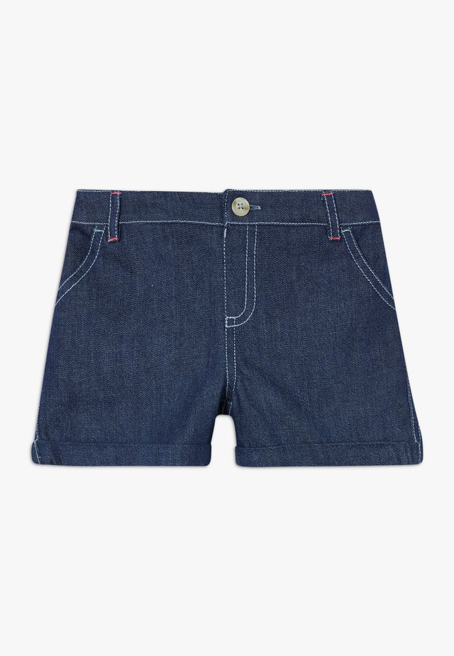 EMBROIDERED SPOT  - Jeansshorts - denim