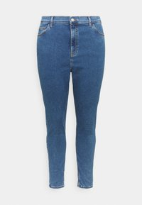 Even&Odd Curvy - Jeans Skinny Fit - blue denim - 3