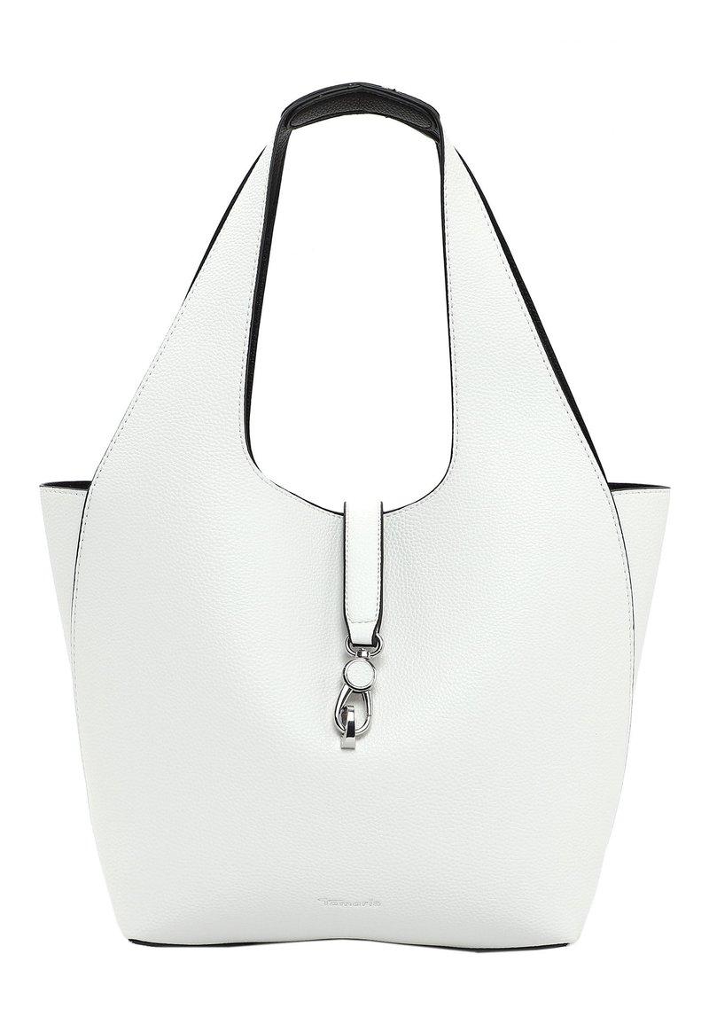 Tamaris - CORDULA SET - Handbag - white/black