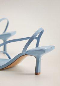 Mango - BOTON - Sandals - himmelblau - 5