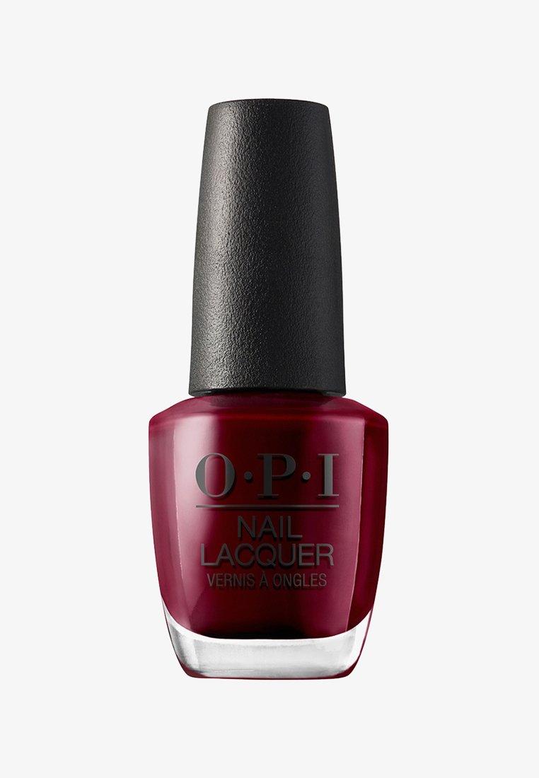 OPI - NAIL LACQUER - Nail polish - nll 87 malaga wine