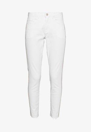 ELMA 7/8 GLITTER - Jeansy Skinny Fit - white