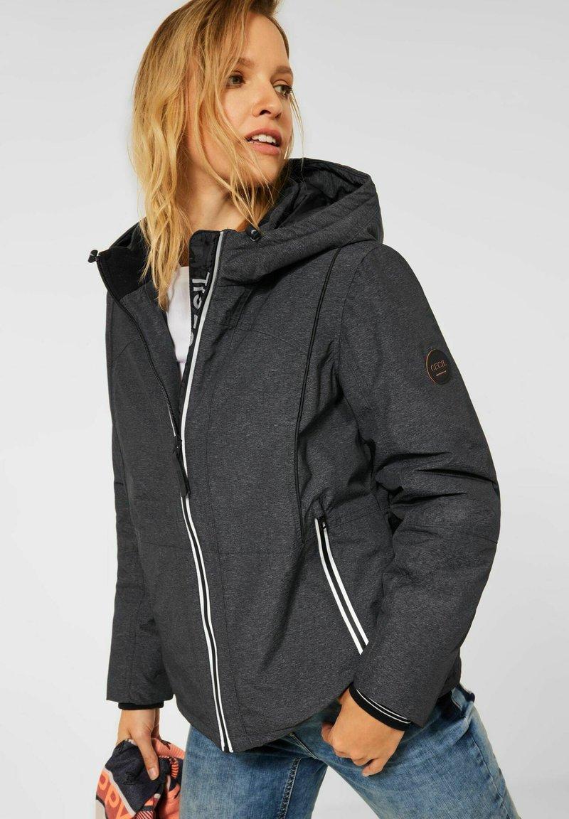 Cecil - MIT KAPUZE - Outdoor jacket - grau