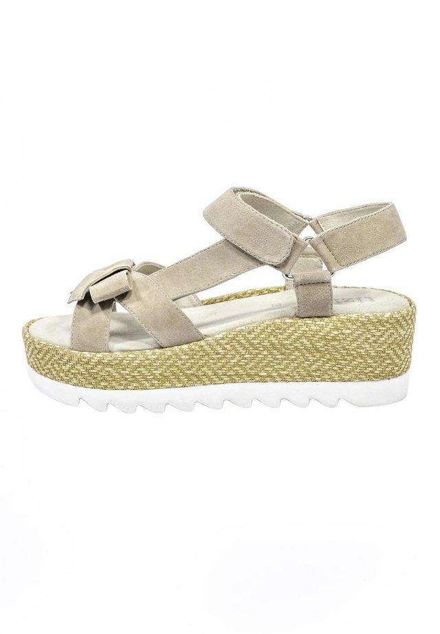 ST.LOUIS - Platform sandals - taupe