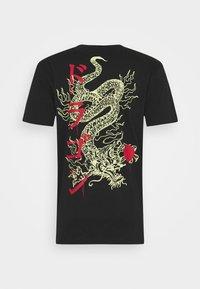 Only & Sons - ONSHARU LIFE  TEE - Print T-shirt - black - 5