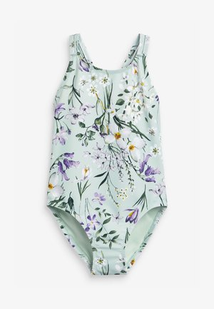 FLORAL - Swimsuit - mint