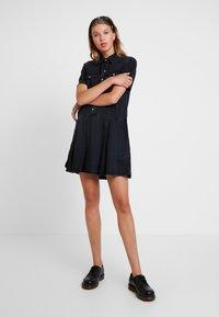Levi's® - MIRAI WESTERN DRESS - Denim dress - black sheep - 2