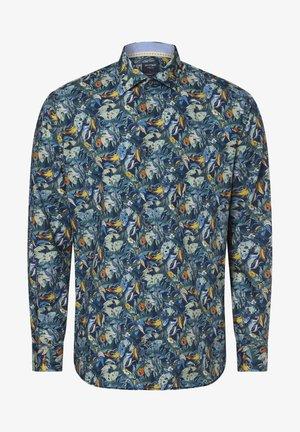 Shirt - blau gelb