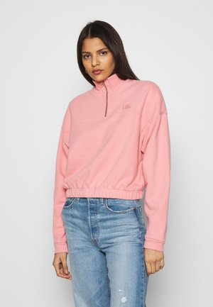 POM QUARTER ZIP - Sweater - blush
