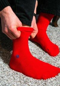 Natural Vibes - SOCKEN 2 PACK AUS BIOBAUMWOLLE - Socks - red - 0