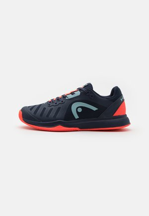 SPRINT TEAM 3.0 CLAY - Zapatillas de tenis para tierra batida - dress blue/neon red
