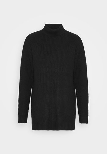 LONG LINE ROLL NECK