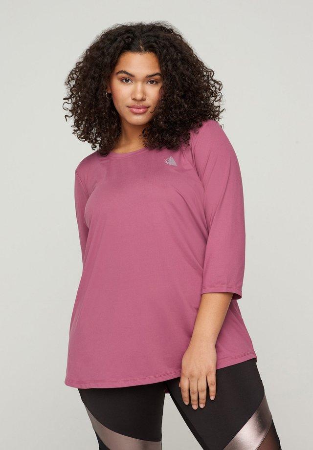 MIT 3/4-ÄRMELN - T-shirt à manches longues - grape nectar