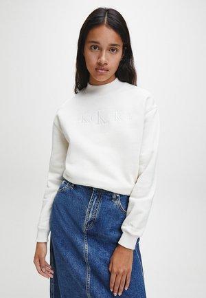 Sweatshirt - soft cream white
