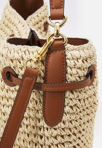 Lauren Ralph Lauren - CROCHET DEBBY - Handbag - natural/tan - 6
