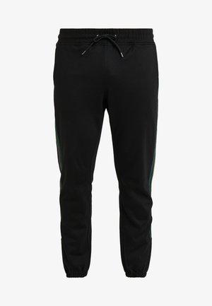 TRACK - Tracksuit bottoms - black