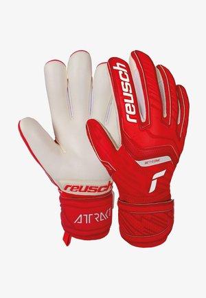 Goalkeeping gloves - red / white