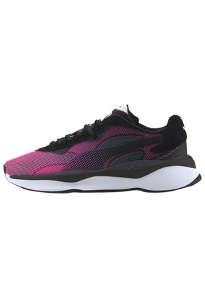 RS-PURE MOTION - Sneakers basse - spectra green-fluo pink
