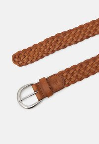 Marc O'Polo - RUNJA - Braided belt - burnt camel - 1