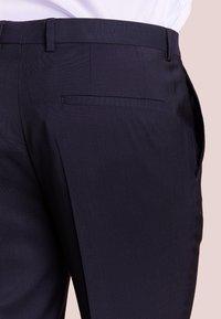 HUGO - HARTLEYS - Pantalon de costume - dark blue - 4