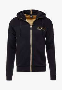 BOSS - SAGGY - Zip-up hoodie - black - 3