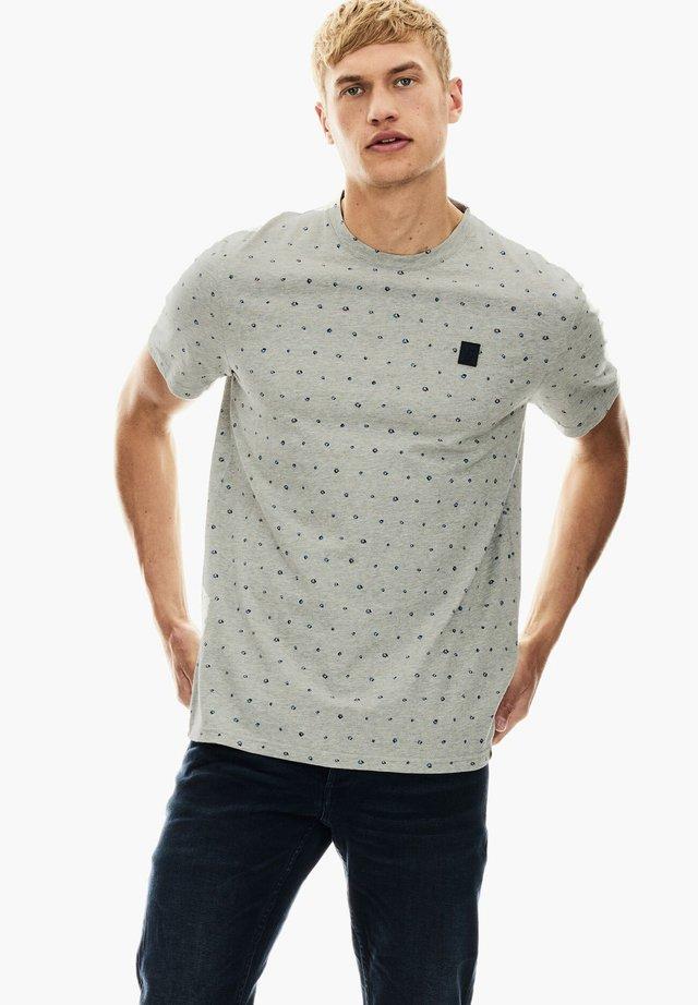 T-shirt imprimé - grey melee