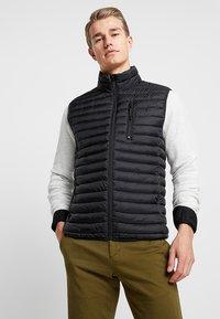Esprit - Waistcoat - black - 0