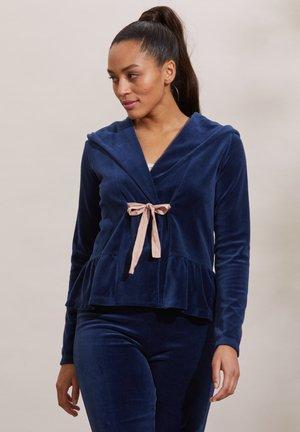 HELENA - Zip-up sweatshirt - dark blue