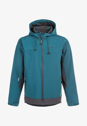 SOFTSHELLJACKE RYDER M SOFTSHELL - Soft shell jacket - blue coral