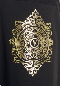 Versace Jeans Couture - ORGANIC BRUSHED - Tracksuit bottoms - nero/oro - 2