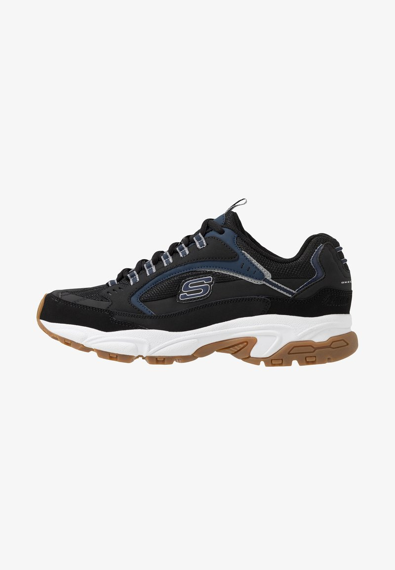 Skechers Sport - STAMINA - Sneaker low - black/navy