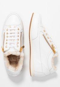 Candice Cooper - ROCK DELUXE ZIP - Sneakers - bianco - 3