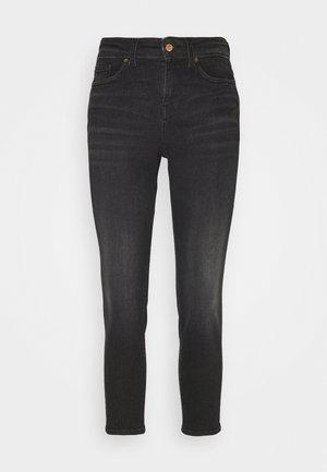 VMCLARA RELAXED TAP  - Relaxed fit jeans - black