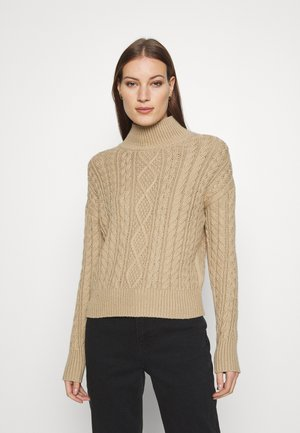 ANDES CABLE TNECK - Trui - beige