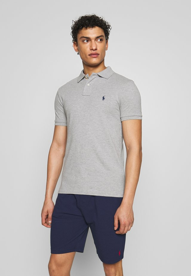 SLIM FIT MODEL - Polo - andover heather