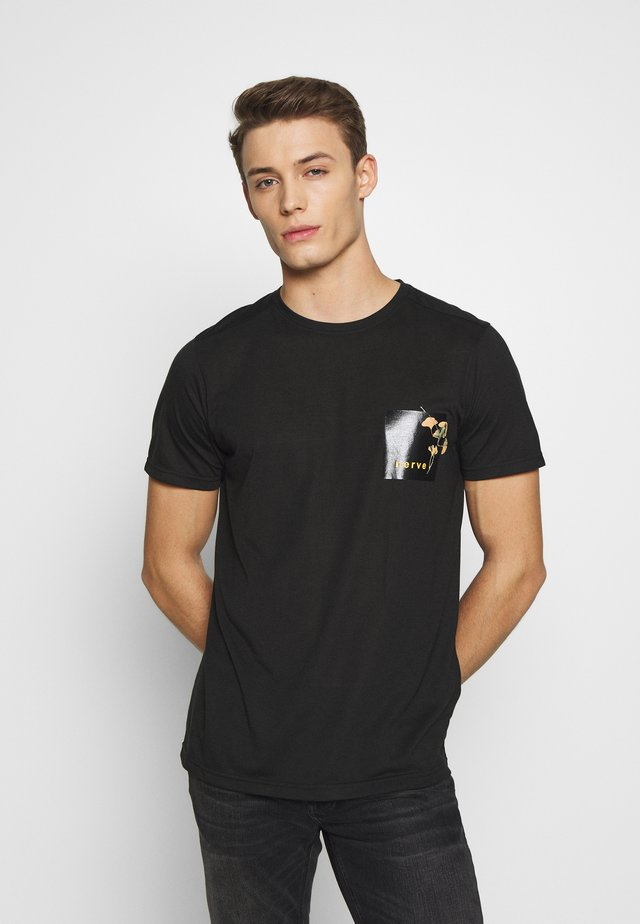 NEPAL TEE - T-shirt con stampa - black