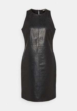 LEECY - Vestido de cóctel - black